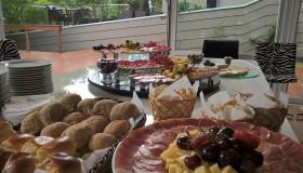 Mesa de antepastos COM e SEM finger food